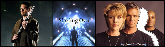Starting Over title graphic